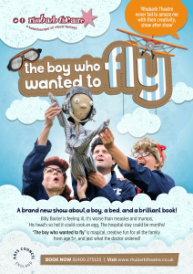 The boy who wanted to fly poster